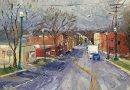 Lockport, Illinois Oil Painting